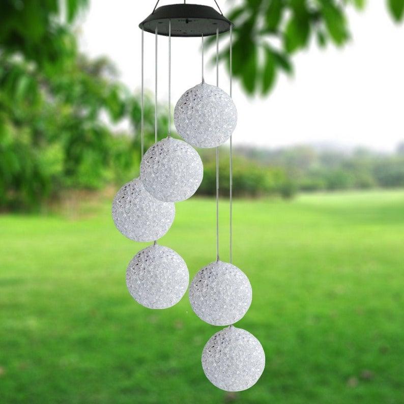 Solar Powered Light up Wind Chime balls