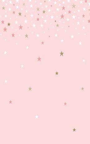 Sprinkle stars Christmas wallpaper for smartphone