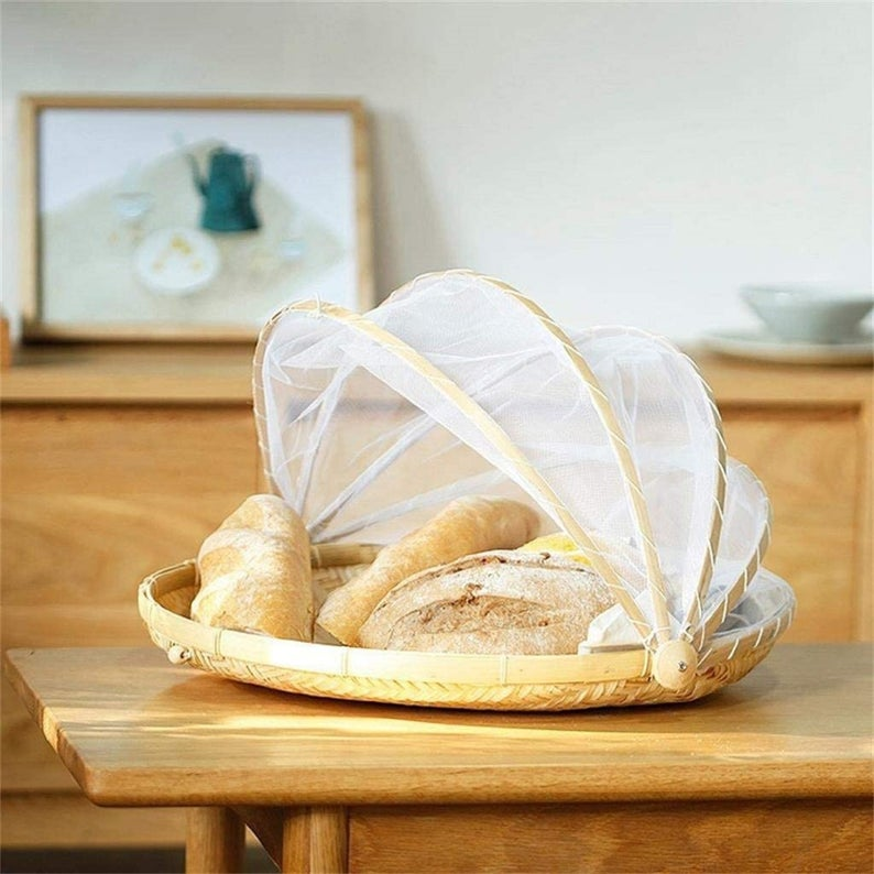 Storage Food Bread Picnic serving tray