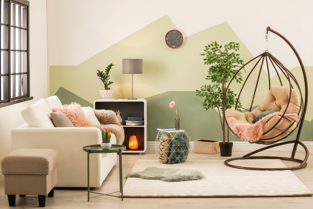 Stylish living room decor that will give you an instant feeling of comfort