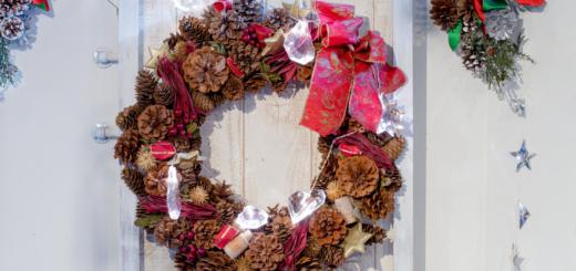 Thanksgiving wreath ideas for front door