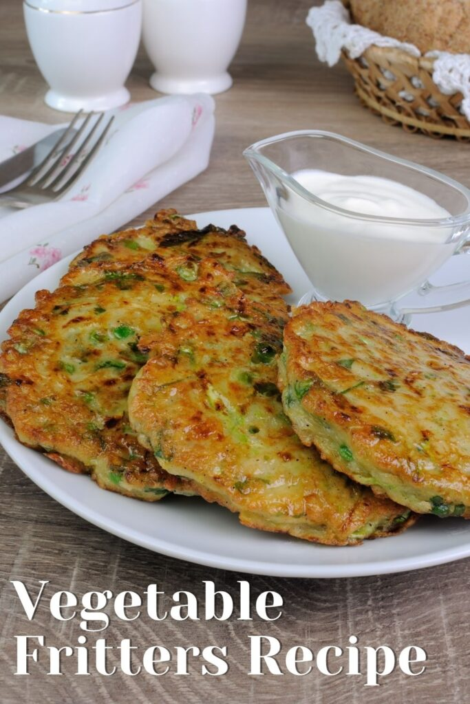 Leftovers Vegetable Fritters Recipe