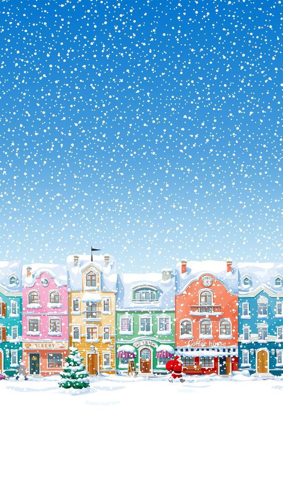 Winter snowing best  iphone background free to download