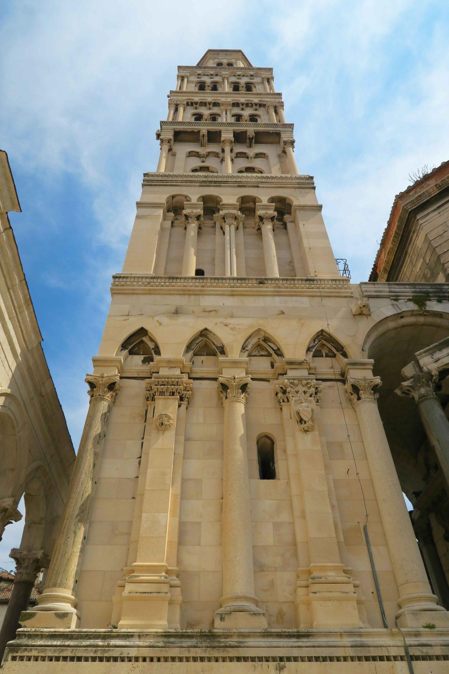 Saint Domnius Bell Tower in Split Croatia