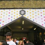 D&AD New blood entrance and the Truman Brewery in London