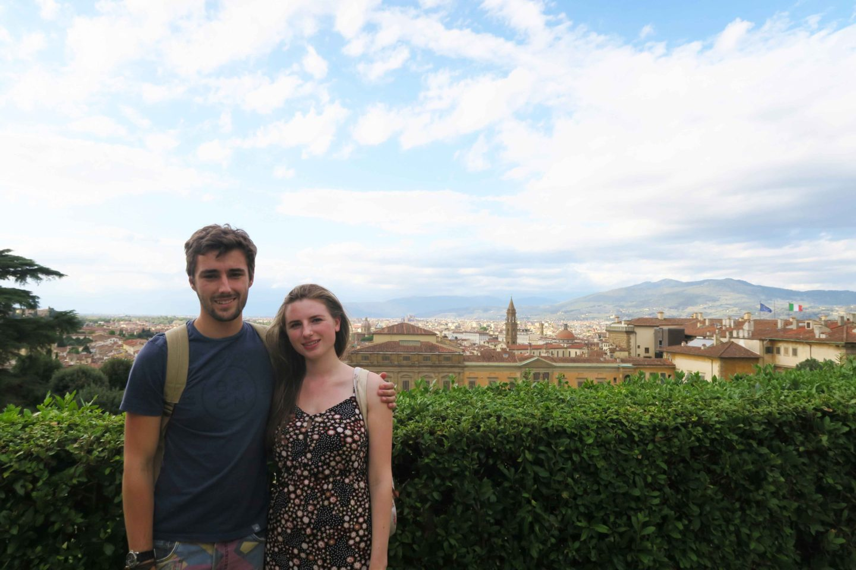 basilica di san lorenzo couple