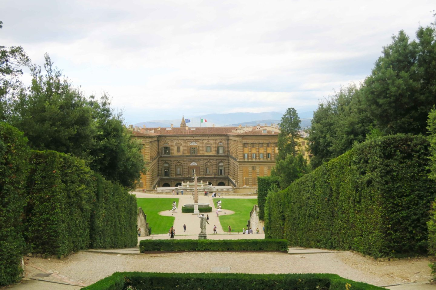 basilica di san lorenzo palace and garden in florence