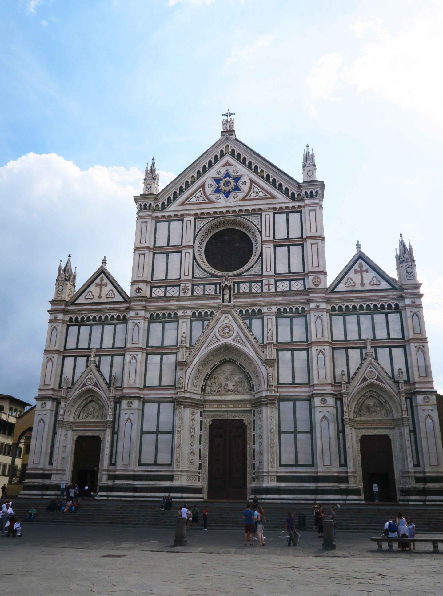 Basilica di San Lorenzo architecture in florence