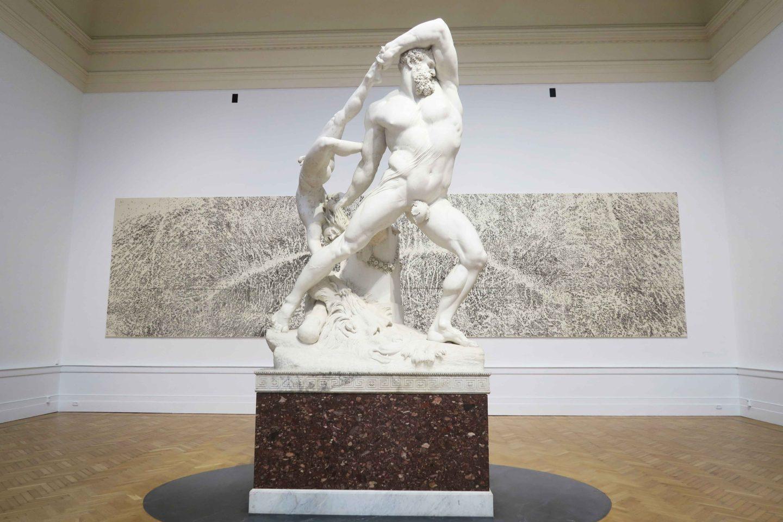 rome museum of modern art statue