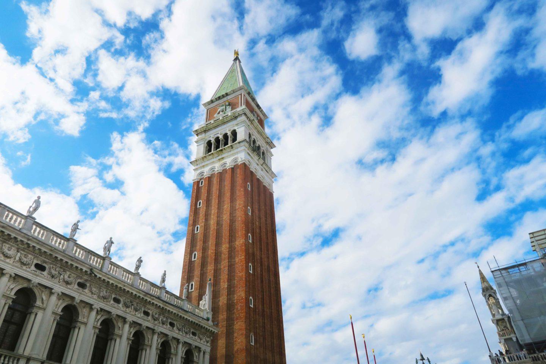 San Marco Campanile in venice italy