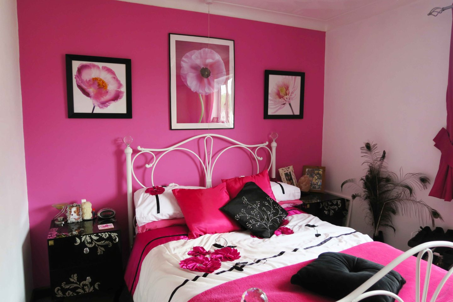 flower teenage bedroom interior design