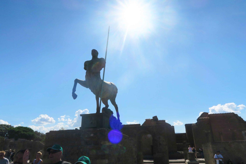 pompeii centaur statue