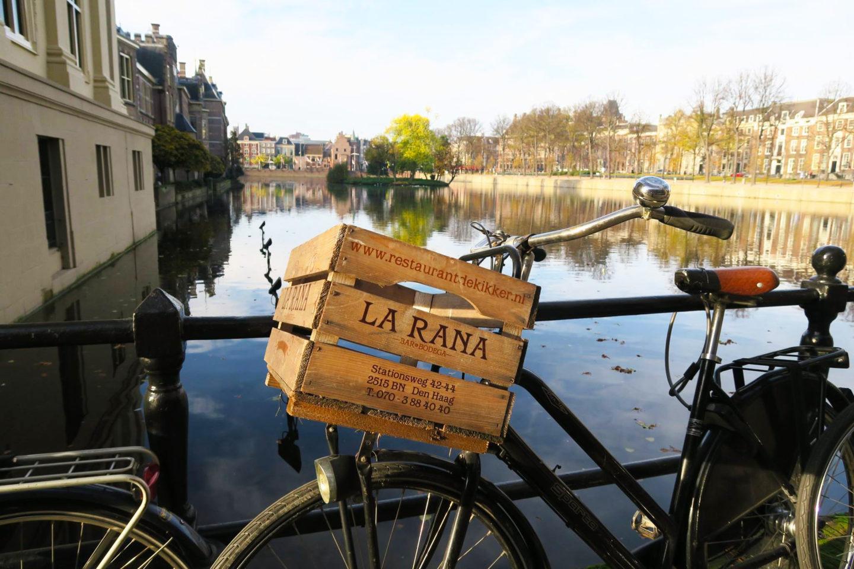 amsterdam cute bike