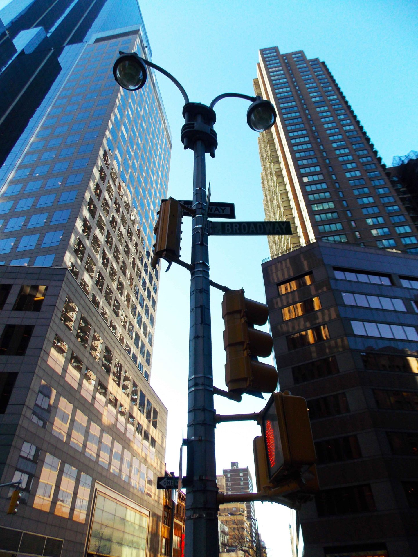 new york street lamp