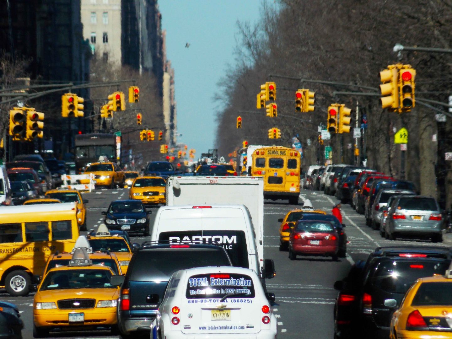new york traffic lights