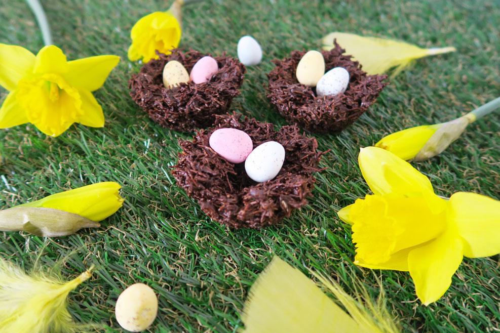 easter treats birds nests