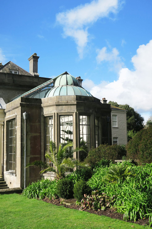 trelissick gardens sun room