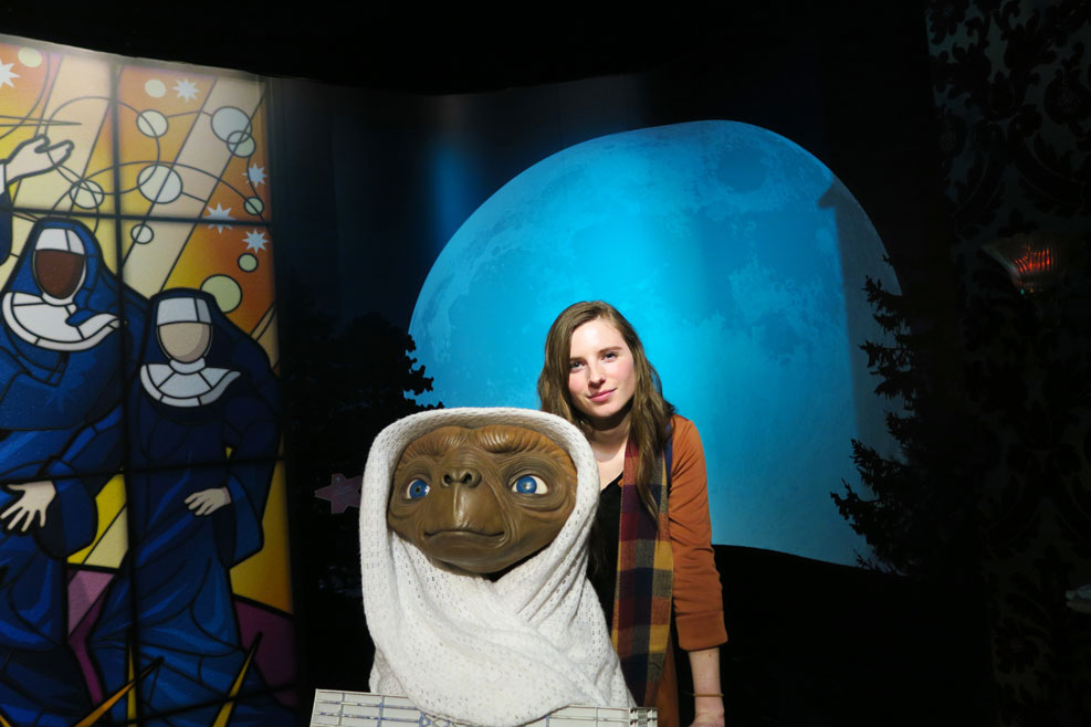 et at madame tussauds in london
