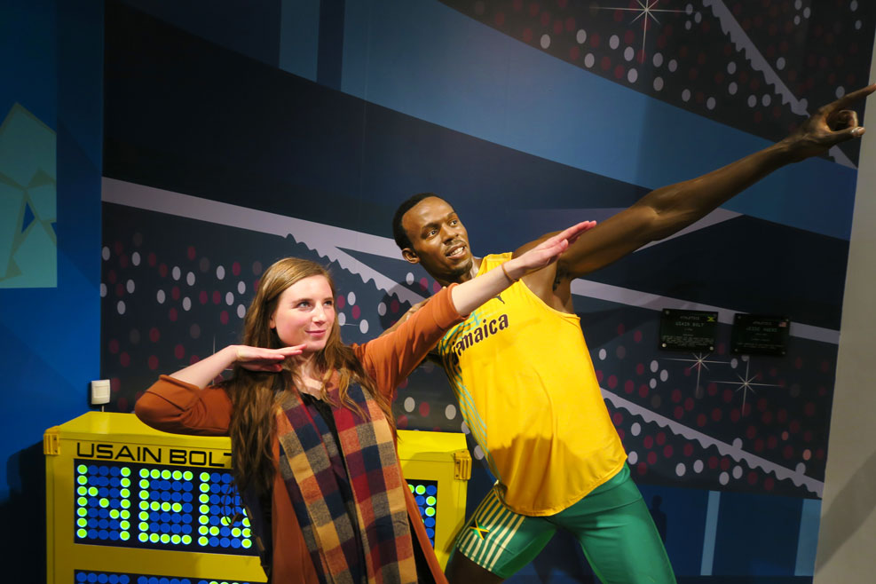 usain bolt madame tussauds london