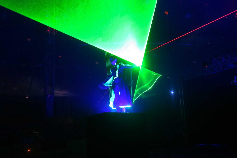 paulos circus laser