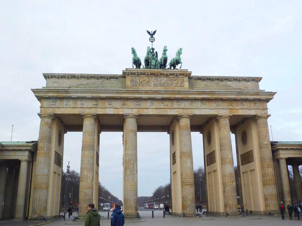 berlin battenburg gates germany