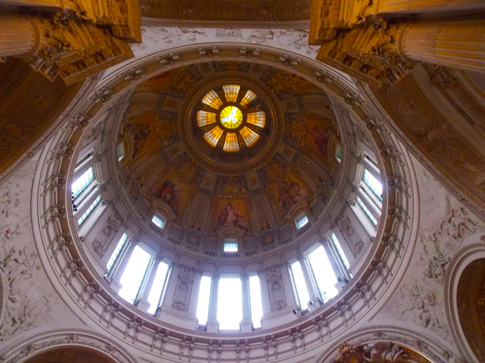 berlin cathedral ceiling