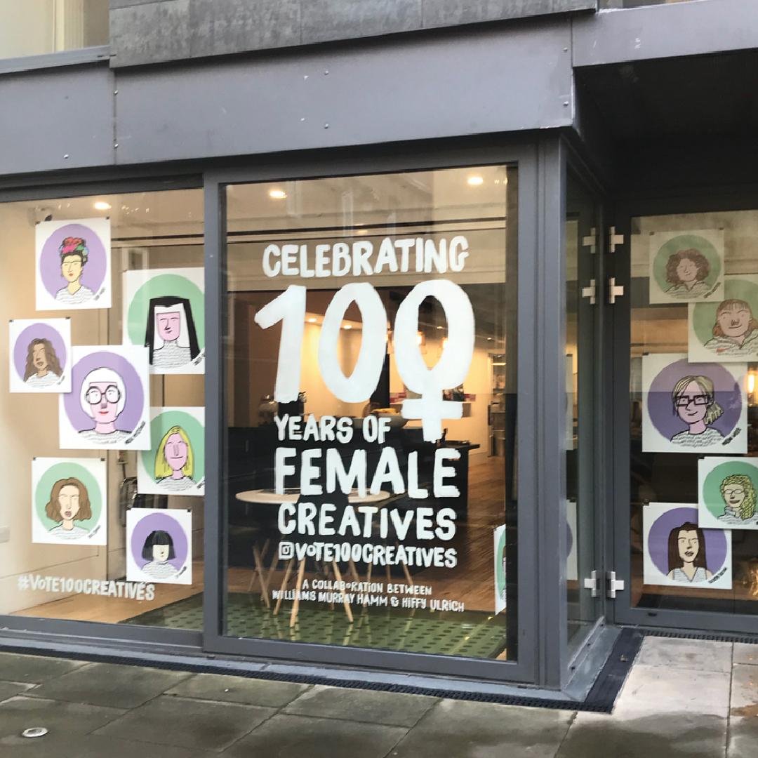 female-creatives-window-display