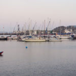 falmouth harbour with boats and yachts