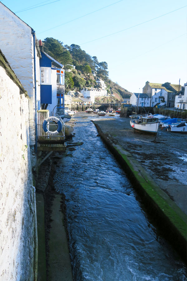 polperro river and harbour studio in cornwall