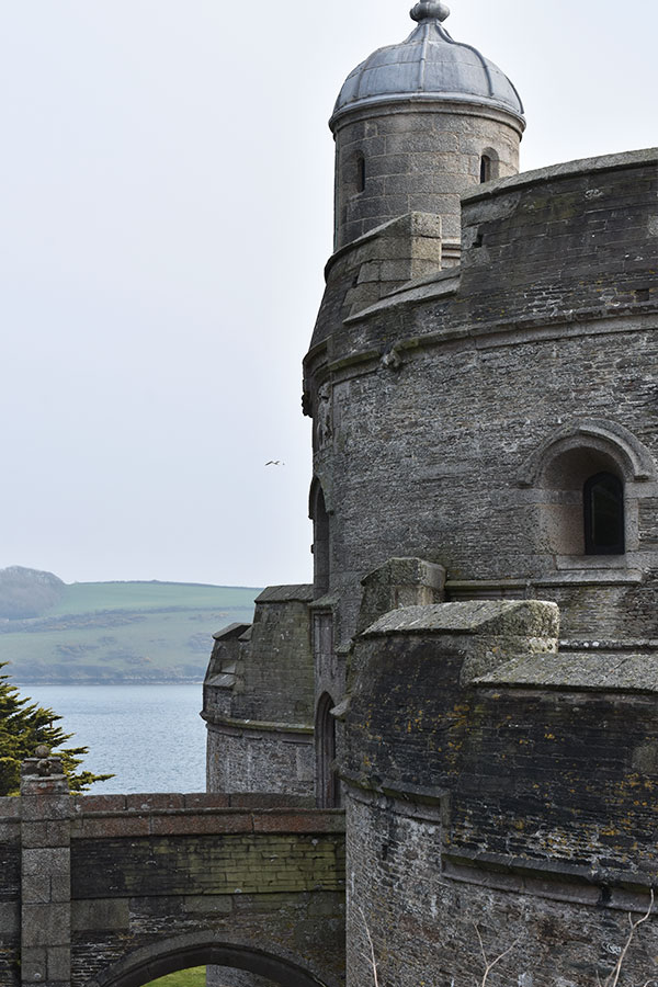 saint mawes castle owned by english heritage in cornwall