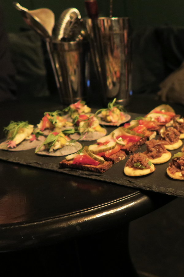 avocatering snack platter in falmouth in cornwall