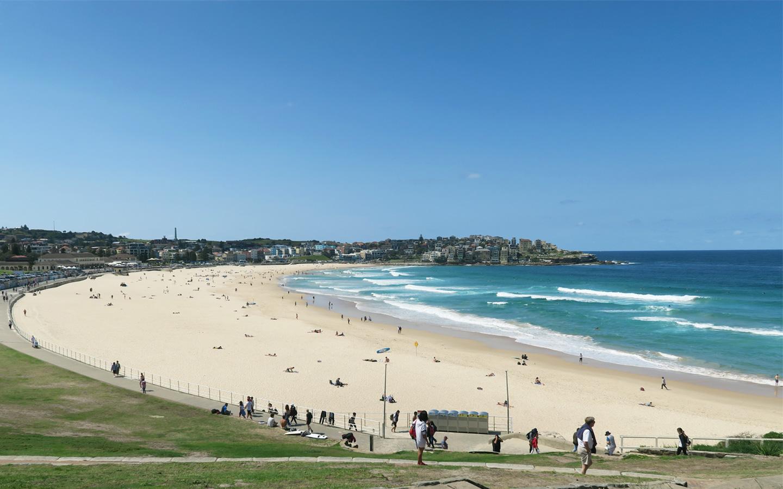 bondi beach in sydney in australia