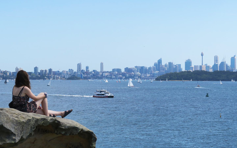 sydney harbour view in australia