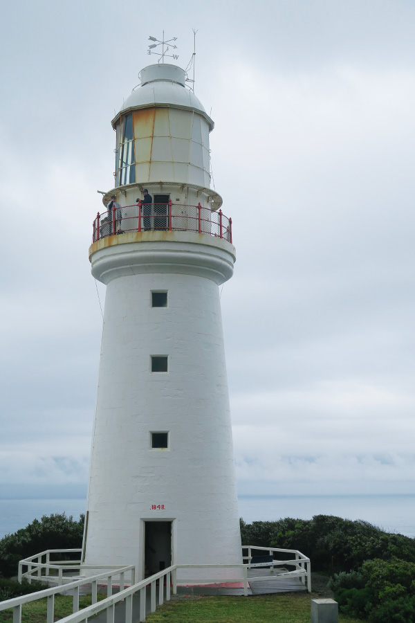 cape otway lighthouse on the great ocean road in australia