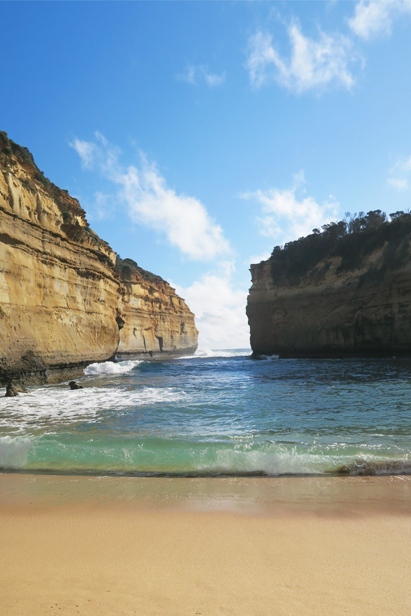 lock ard gorge at the 12 apostles on the great ocean road in australia