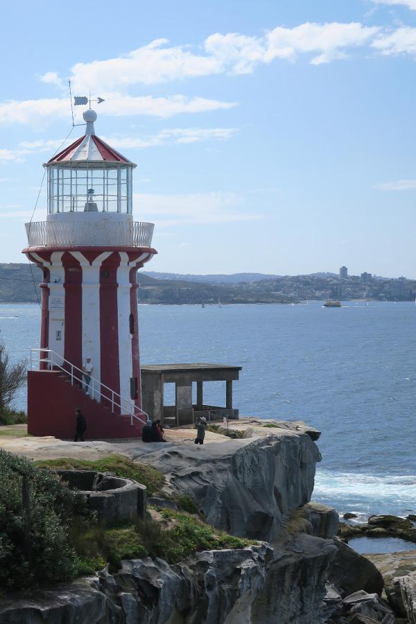 hornby lighthouse in sydney in australia