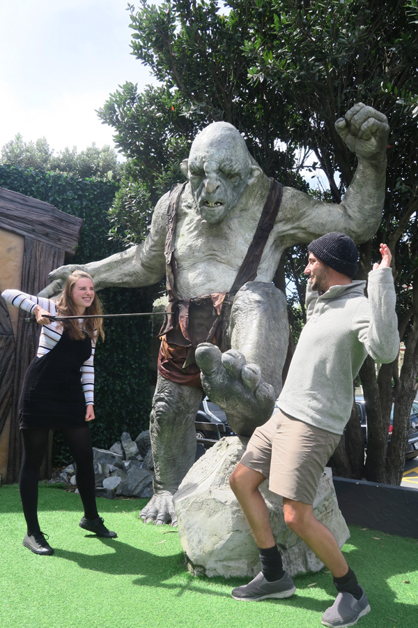 cave troll from lord of the rings made by weta cave