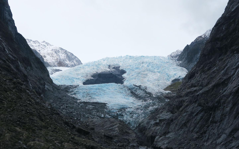 franz josef glacier in new zealand