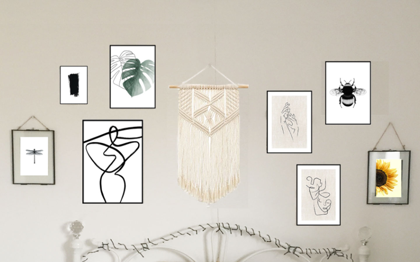 how to hang your gallery wall