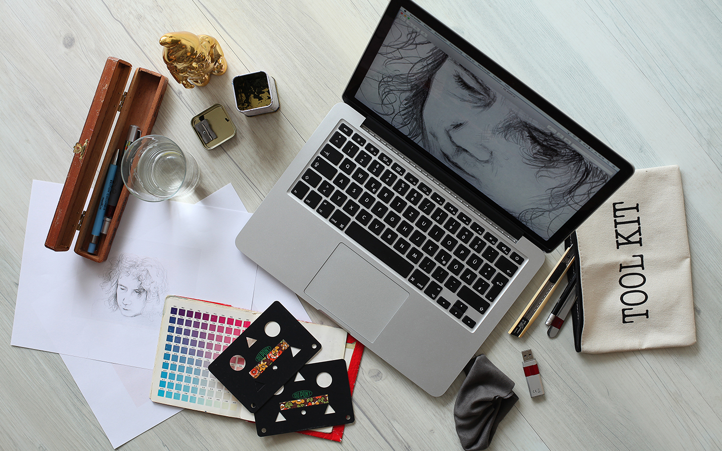 essential equipment for a freelance graphic designer by melissa carne