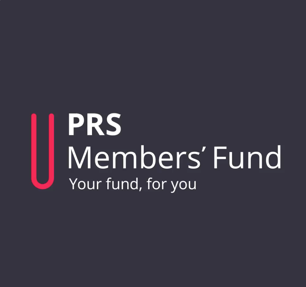 prs members fund logo and branding