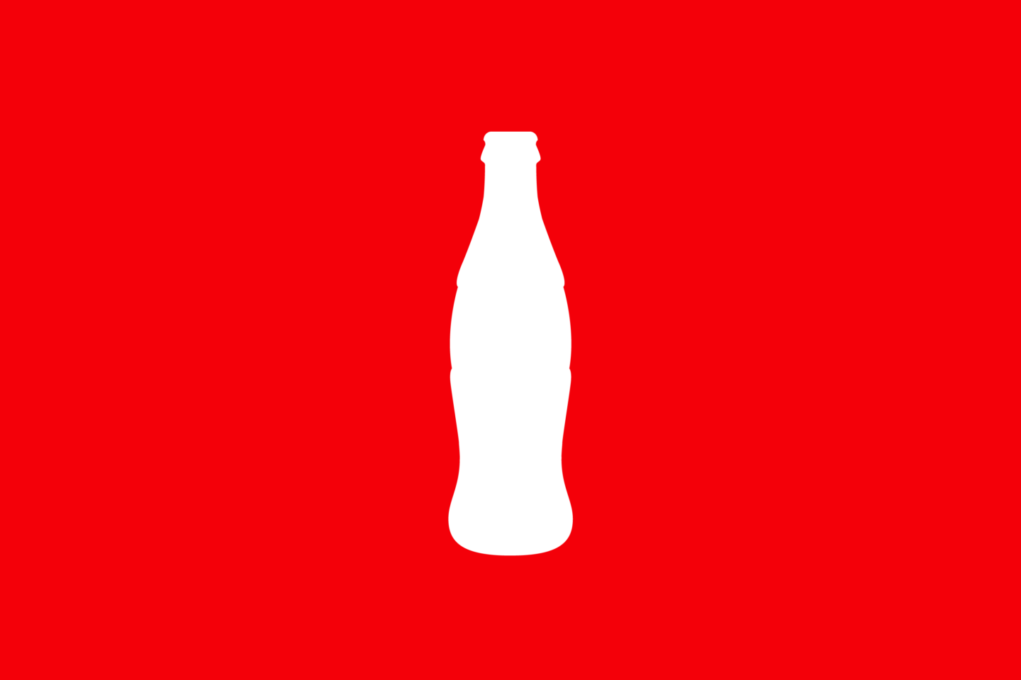 coca-cola silhouette as an example of strong branding