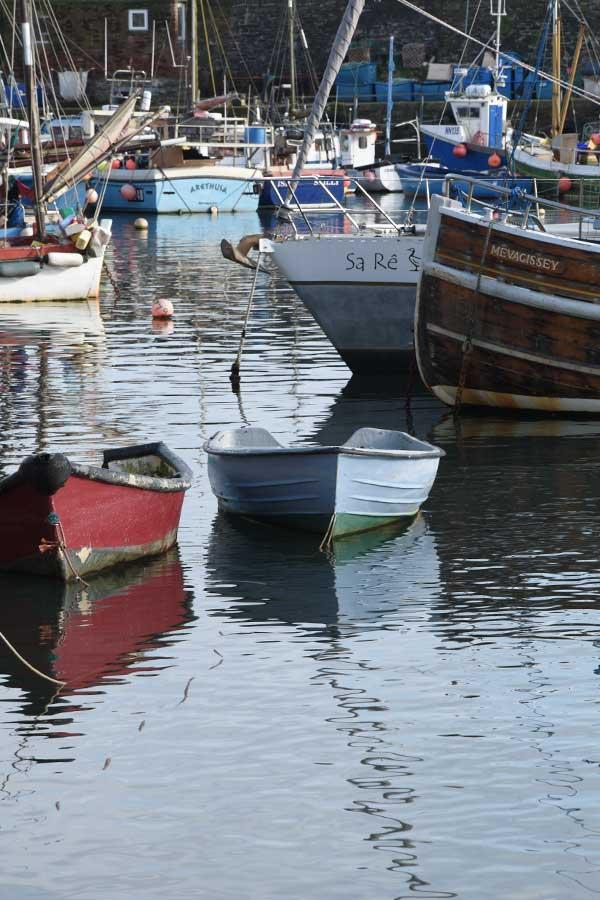 mevagissey wooden boat