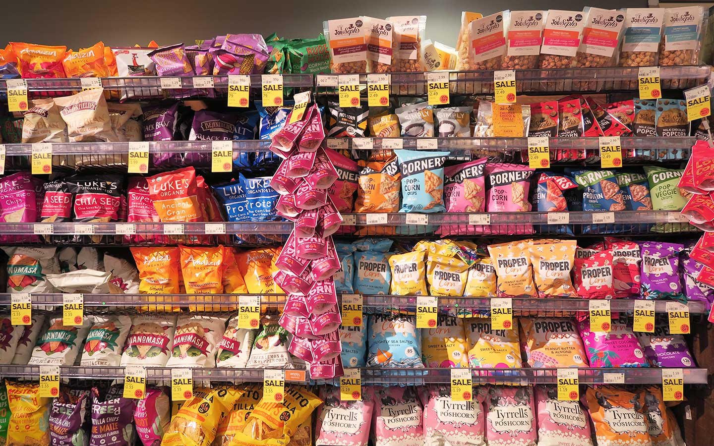 notcorn packaging designed my melissa carne in whole foods