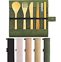 bamboo-cutlery-set-from-amazon-easy-ways-to-reduce-plastic