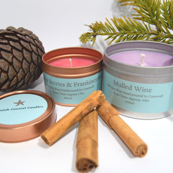 cornish coastal candles