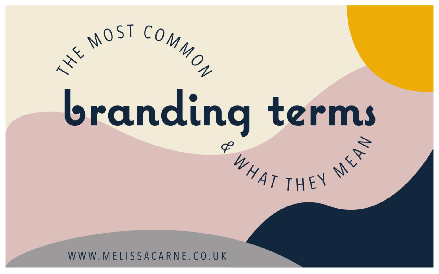 common branding terms and what they mean