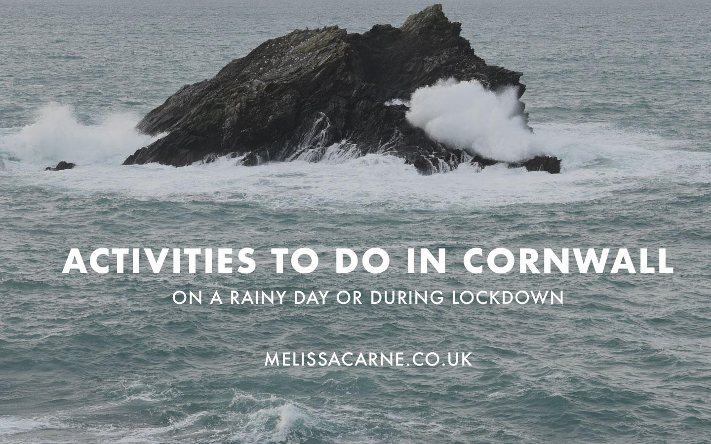 cornwall activities in rain
