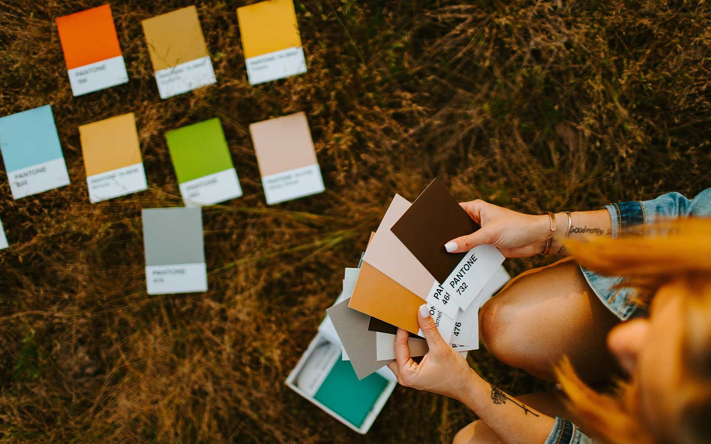 how to pick a colour palette for your brand