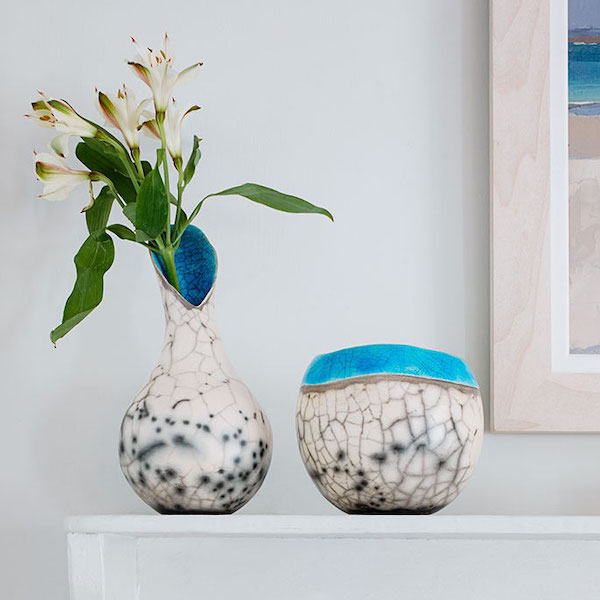 sea and cliffs collection by lucktaylor ceramics